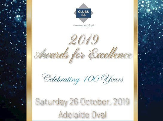 Clubs SA Awards for Excellence - Thank you to those who nominated
