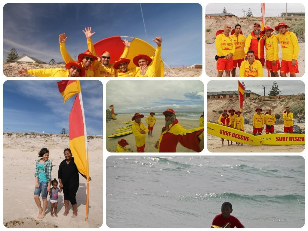 West Beach Surf Life Saving Club - City Holden Cheque Presentation