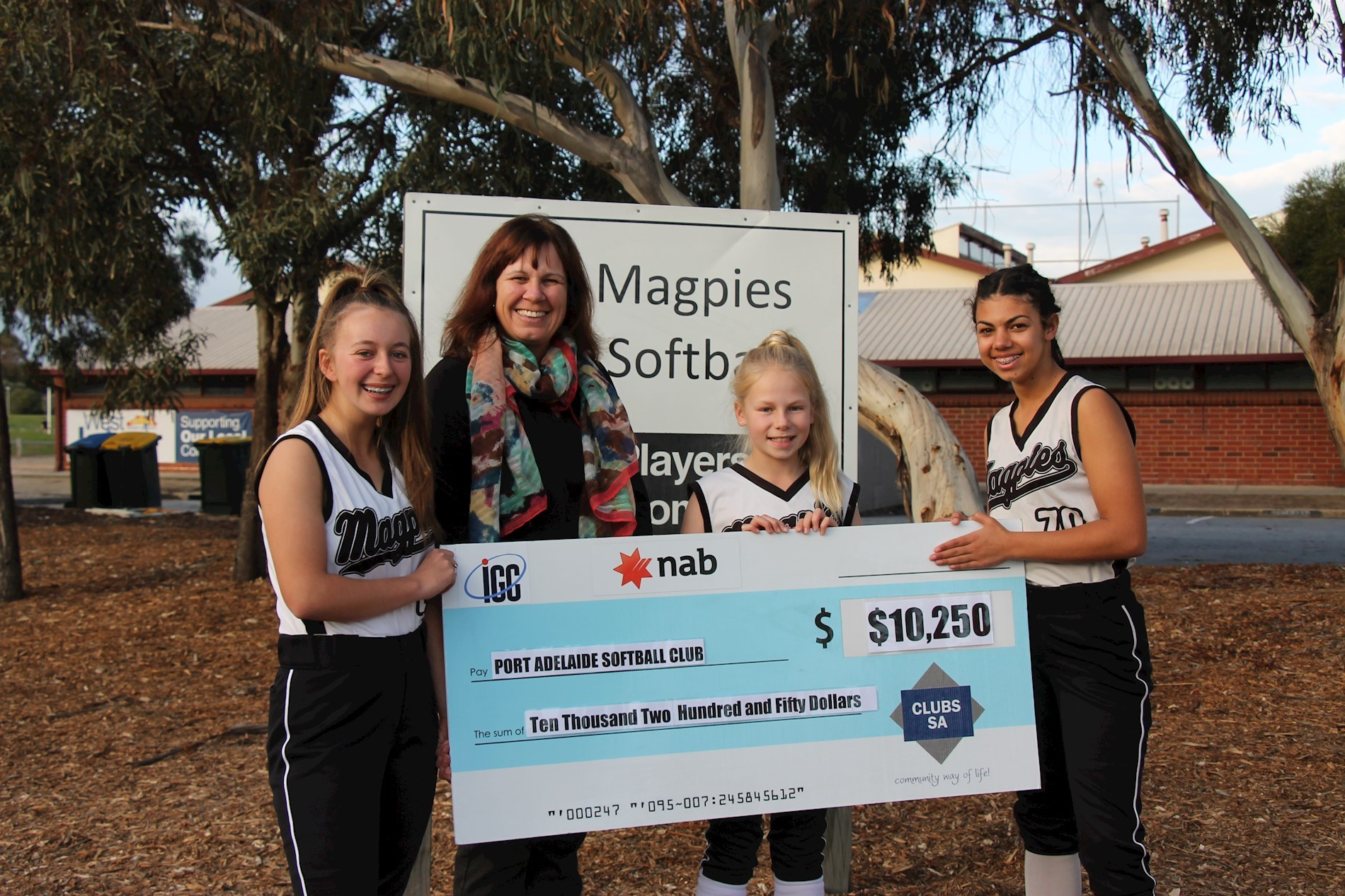Port Adelaide Softball Club - Recipients of IGC Grant