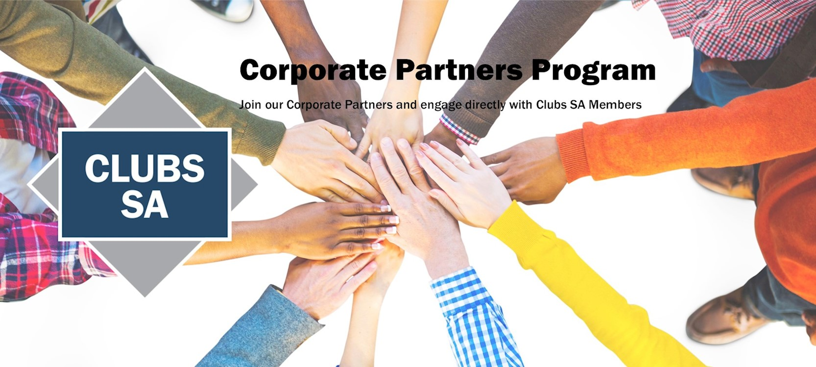 Find out more about Clubs SA's Corporate Partners Program