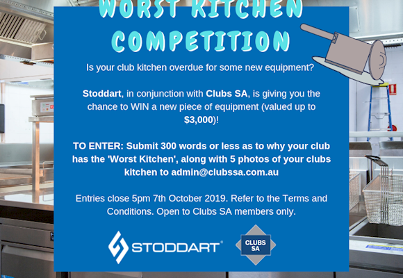 Clubs SA/Stoddart Worst Kitchen Competition 2019