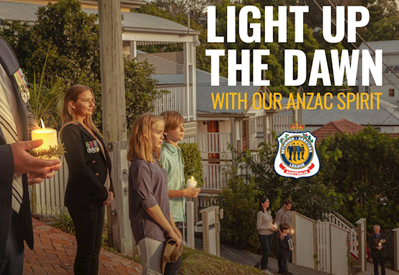 Anzac Day 2020 - Light Up The Dawn