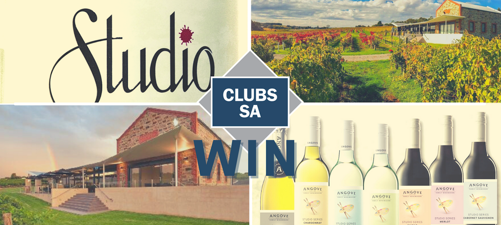 Win 12 Bottles of Angove Family Winemakers 'Studio Series'